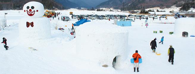 雪と遊ぼう!開田高原かまくらまつり